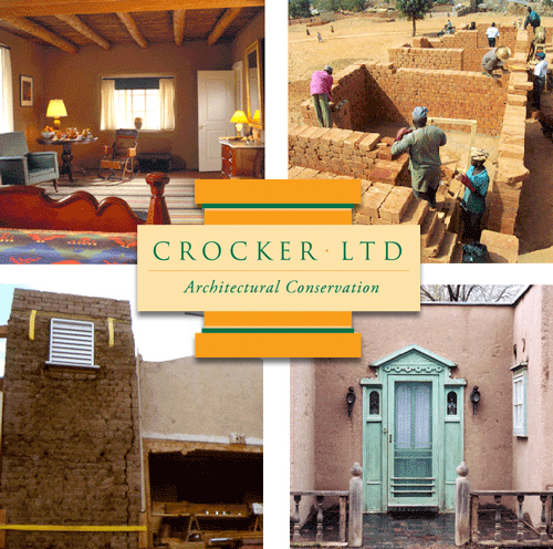 Crocker Ltd performs a wide range of consulting and construction services in architectural conservation, historic preservation, moisure remediation, structural stabilization, adobe, and plaster.